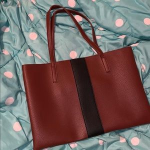 Huge tote bag with slip inside.